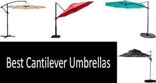 top 5 best cantilever umbrellas in 2020