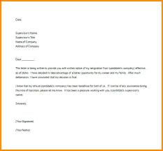 Free Resignation Letter Free Resignation Letter Employee Resignation ...