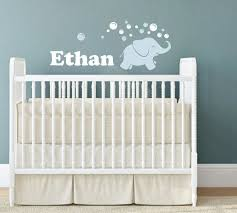 elephant wall decal elephant blowing bubbles name wall decal baby boy nursery wall decor elephant decal boy name bubble wall decals on personalized name wall art for nursery with 38 best baby boy nursery decorating ideas images on pinterest