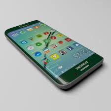 samsung s6 edge. samsung galaxy s6 edge green 3d model max 5