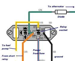 volvo penta 5 0gl fuel pump quitting ? page 1 iboats boating Fuel Pump Relay Wiring Diagram at Fuel Pump Wiring Diagram For Excurtuion