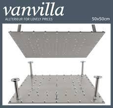 Duschkopf Vanvilla Slim Design 50cm X 50cm Edelstahl