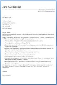 Ultrasound Technician Cover Letter Ultrasound Technician Cover