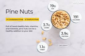 Nuts Nutrition Chart Pine Nut Nutrition Facts Calories Carbs And Health Benefits