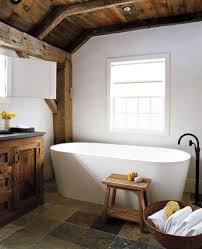 Delighful Rustic Modern Bathroom Designs N On Design