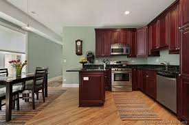cabinets painted interior kitchen of the day this small features traditional rich useful sage green color scheme excellent kitchen color schemes