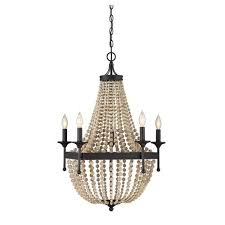 hayden oil rubbed bronze five light chandelier