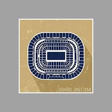Edward Jones Dome Seating Chart Football Amazon Com Artsycanvas Edward Jones Dome Football Seating