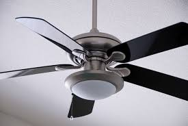 installing a ceiling fan with a
