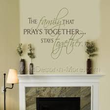 the family that prays together spiritual vinyl wall decal on spiritual vinyl wall art with christian removable wall decals current production turnaround time