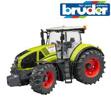 dels about bruder toys 03012 claas axion 950 tractor working steering hitch 1 16 scale