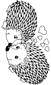 Small Picture Hedgehog coloring Free Animal coloring pages sheets Hedgehog