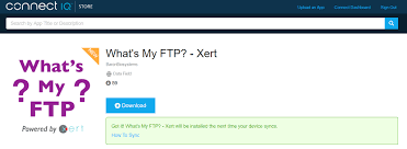 Xert Rolls Out Free Real Time Ftp App On Garmin Devices Dc