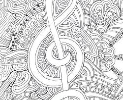 Coloring Page Binder Cover Binder Cover Printable Covers Music Themed Coloring Pages Coloring