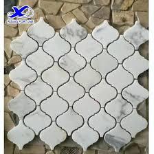 lantern tile backsplash white marble lantern mosaic tile design large lantern tile backsplash