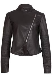 quilted leather jacket / black | moochi & quilted leather jacket / black Adamdwight.com