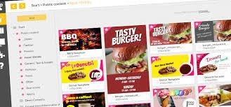 15 Free New Digital Menu Board Templates For Restaurants