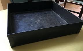 metal desk organizer metal square heavy storage tray desk organizer tray metal desk file organizer