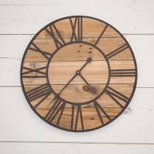 rustic wall clock on metal wall art cheap as chips with rustic wall clock magnolia chip joanna gaines
