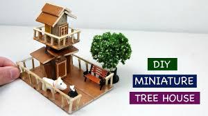 diy miniature tree house for fairy garden 3 creative craft ideas
