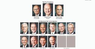 Apostles Death Chart Lds View Or Download Updated Lds General Authority Chart