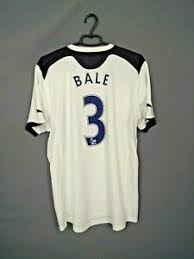 This statistic shows which shirt numbers the palyer has already worn in his career. Tottenham Hotspur Gareth Bale International Club Soccer Fan Apparel And Souvenirs For Sale Ebay