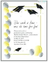 Graduation Name Card Inserts Template Graduation Inserts Template