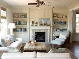 Living Room Built Ins Decorating Living Room Built In Shelves House Decor