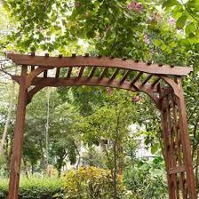 c coast halstead wood garden arbor