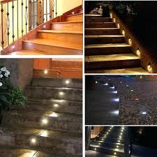 indoor stair lighting wall recessed lots and outdoor led step fixtures  waterproof in lights . indoor stair lighting ...