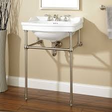 attractive design kohler bathroom sinks laminate wood floor with decorative planter also wall mounted bathroom formidable metal leg