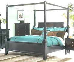 Black Canopy Bed Frame Cheap Canopy Bedroom Sets Full Size Canopy ...