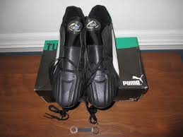 puma soccer cleats shoes world tech pro black white gold size 12 new unused