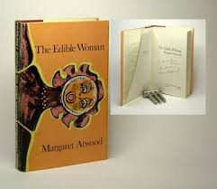 some artist the edible w presentation copy toronto mcclelland stewart 1969 first edition of margaret atwood s first novel inscribed by her on the