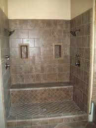 dual shower head shower. Double Shower Heads With A Seat--love It! Dual Head Pinterest