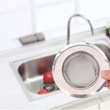fancy kitchen sink strainer stainless steel drain stopper bathtub hair catcher