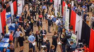 Poole Career Fair Students Arrive Well Prepared Recruiters Say