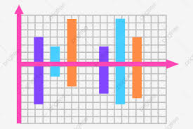 Arrow Chart Straight Arrow Chart Illustration Purple Straight Line