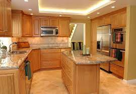 Cherry wood darkens with exposure to light, so the kitchen cabinets that you loved when you installed them, may end up being too dark for your taste after a few years. Cherry Kitchen Cabinets Kitchen Design Ideas Cherry Cabinets Kitchen Cherry Wood Kitchen Cabinets Finish Kitchen Cabinets