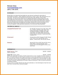 7 Junior Sql Developer Resume Incidental Report
