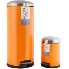 Kitchen Bin New Cookin Colour Set Of Two 30l 5l Soft Close Kitchen Waste Pedal