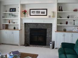 Bold Design Fireplace Side Shelves Nice Ideas Fireplaces With Bookshelves  On Each By