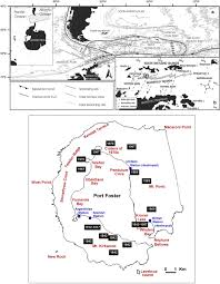 Wordens Pond Depth Chart Database Of Multi Parametric Geophysical Data From The Tomo