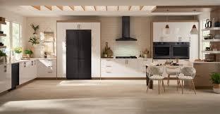 samsung black stainless fridge. Kitchen With Black Stainless Appliances. Photo: Samsung Fridge
