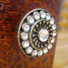 crystal furniture knobs. Crystal Dresser Knobs In Brass With Clear Crystals Furniture L