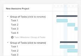 Gantt Chart Procedure Easy Way To Make A Gantt Chart In 5 Minutes Or Less Teamgantt