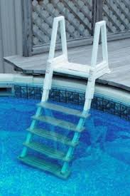 Image Deck Mounted Pool Confer Heavy Duty Inpool Ladder W Barrier For Above Ground Pools 6000b Best Buy Pool Supply Confer Heavy Duty Inpool Ladder W Barrier For Above Ground Pools
