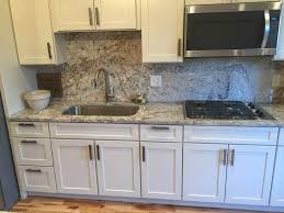 Granite With Backsplash Delectable Gallery Life Rocks