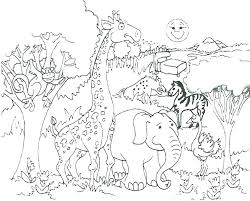 Zoo Animal Coloring Pages To Print Zoo Animal Coloring Pages Cute