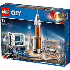 Lego City Weltall Rakete und Launch Control Gebäude Set - 60228